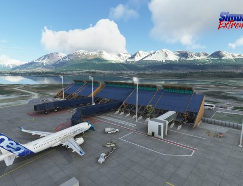 Nuevo aeropuerto de USHUAIA – SAWH Patagonia Argentina para MSFS2020