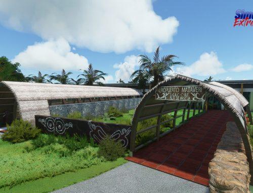 Nuevo aeropuerto Mataveri  de la isla de Rapa Nui para MSFS2020