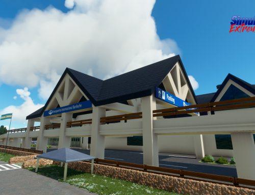 Ya disponible el nuevo aeropuerto SAZS Bariloche para MSFS2020