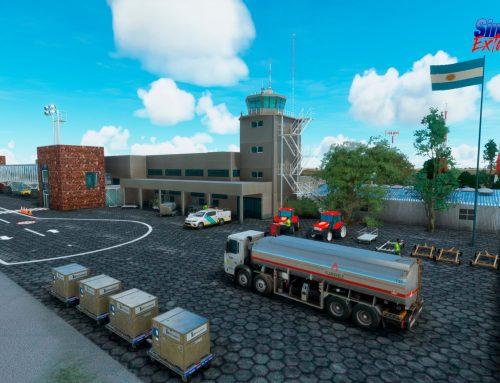 Lanzamiento del nuevo aeropuerto Internacional SAWG Rio Gallegos para MSFS2020