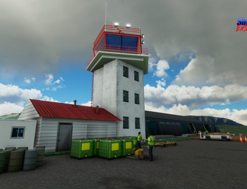 Ya disponible escenario Torres del Paine y aeropuerto SCNT Julio Gallardo de Puerto Natales MSFS2020
